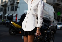 I like a nice white shirt / by Maggie De Laurentis