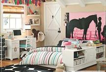 My Little Girls Room - Someday / Ideas for redecorating my 9 year old daughters bedroom.  Her favorite colour is pink / by Lara Batherson