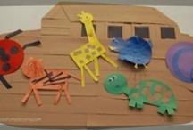 Church Nursery Ideas / Curriculum and decorating ideas for my work in the church nursery/preschool department. / by Jennifer Johnson