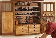 Tool Chests, Cabinets and Boxes / Ways of storing WoodWorking Tools.
