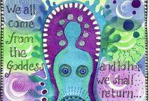 Creative Goddess / Sacred crafting!