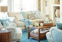 Catalogs   Shop the Look / Shop the look of these beach theme styled rooms from favorite online stores and brands, such as Pottery Barn, Pier 1, Target, Wayfair, Birch Lane, and others. Featured on: beachblissdesigns.com