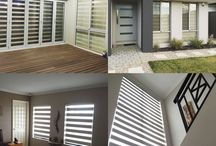 Zebra Blinds / Combi Blinds / Light Filtering Zebra Blinds(or shades) are also known as transitional shades. They offer both sheer and light filtering fabrics in the same shade that creates a zebra like pattern. You can raise these similar to a traditional shade, but you also have the option to align the front and back sections for privacy or to allow some light to filter through. Leave your shades open during daytime hours and gain incredible view-through, close them partially to protect your family and home from harmful UV rays and intense light, or shut them completely at night for the privacy you need.