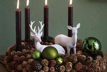 Weihnachten- Adventsdekorationen