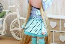 Panenky, skřítci a jiné hračky / panenky, hračky a dekorace pro děti,.....