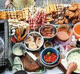 Essensstände; Foodtopia, Foodcourts, Street Food Festivals / Veranstaltungen & Events mit Essen & Trinken in Frankfurt und im Shopping-Center MyZeil