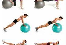 Sport: Fitnessübungen & Sportevents / Fit halten mit Fitnessübungen & sportlichen Aktivitäten zu Hause oder bei gemeinschaftlichen Sportevents