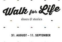Walk for Life/ Lauf für mehr Zeit - Pop Up Store MyZeil Shopping-Center