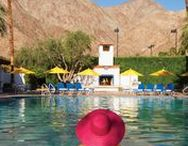 Palm Springs, California / Beautiful Palm Springs. Mid Century Architecture, Hotel Pools, Salvation Mountain, and more.