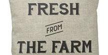 Farmhouse Style <3 / Farmhouse Decor