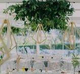 Trend Spot! Geometric Wedding Decor