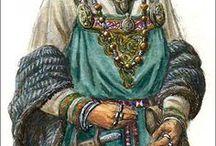 Viking outfit vrouw / Yggdrasil is een Viking LARP evenement. Op dit bord kun je inspiratie vinden voor een vrouwelijke Viking outfit.