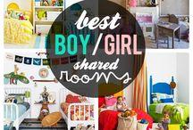 Shared Nursery Ideas / by Theresa Christensen