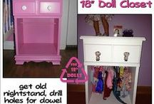 Doll Clothes & Furniture / by Judi Beard-Strubing