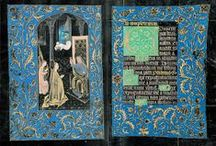 Illuminated manuscript pages