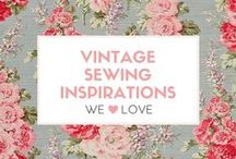 Vintage Sewing Inspirations / Vintage sewing, patterns, fabrics, DIY and project inspirations