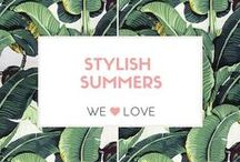 Stylish Summers / Our favourite vintage inspired summer looks to amp up your look when it's hot outside.