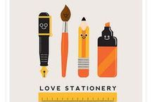 Stationery is Sexy / I'm a stationery and ephemera geek. There is nothing so soothing as browsing the isles of a stationery store!