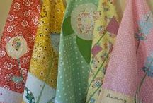 Sewing: Projects for the Kitchen / table runners, placemats, kitchen towels / by Oh Yvonne