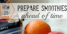 Eat: Smoothies, Blender drinks