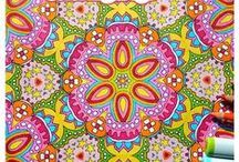 Coloring for Adults / Coloring ideas