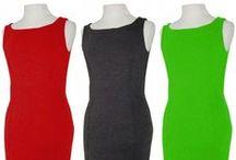 Vestidos de azafatas - Stewardess dresses / Vestidos para congresos, eventos y ferias.