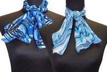 Pañuelos de azafatas - Scarves hostesses / Complementos: pañuelos para azafatas.