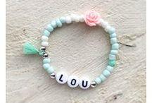 • Mini naam-armbandjes• ♡ BY PAT / Naamarmbandjes voor hippe meisjes