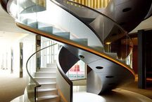 Inspiring Staircase Designs / Taking the stairs has never been so much fun! Check out this growing collection of staircase designs that are bold, unique and inspiring.