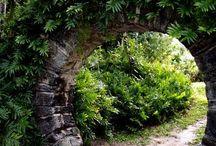 Moon gate Garden / Happy pinning.. no limits.. no blocking..❤️