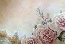 Her Canvas / Dedicated to Renee Oeser's lovely art..❤️Happy pinning..no limits.. no blocking..❤️