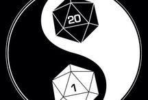 """D&D / """"I want to make a board that includes thoughtful and useful stuff about DnD, as well as fun stories on other people's adventures."""" """"Alright then, let's see... ooh, a Nat 20!"""""""