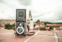 Everyday TL70 / Make ordinary days extraordinary!  Camera: InstantFlex TL70 (TLR) Film: Fujifilm Instax mini film (Color and B&W)  http://mint-camera.com/tl70