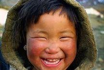 Cute kids around the world