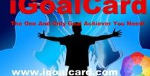 iGoalCard Motivational Quotes / A new way to tap into your goals and easily achieve them. iGoalCard: The One And Only Goal Achiever You Need!