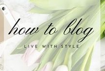 How To Blog / how to blog. write content. build audience. make money.
