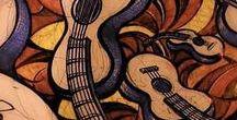 Guitarra Educación / Graficos que muestran técnicas relacionadas con la enseñanza de la guitarra