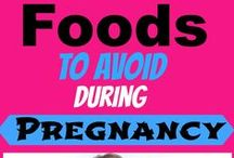 Pregnancy Diet & Nutrition / Pregnancy diet and nutrition tips to help pregnant women have a healthy and fit pregnancy. What to eat during pregnancy, what not to eat, healthy recipes and ways to prevent morning sickness and help pregnant women control excess weight gain so they can lose the baby weight fast. / by Michelle Marie Fit