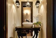 bathroom spaces / by Sue McKee
