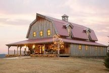 converting a barn / by Sue McKee