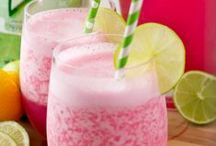 Recipes: Drinks / Delicious and easy drink recipes for smoothies, shakes, juices, cocktails, mixed drinks, lemonades, fruit infused water, and more!  Stop sodas and soft drinks by adding some of these healthier drink options to your daily diet.  Beverages that taste great and are easy to make.  More recipes can be found at http://www.momentswithmandi.com/