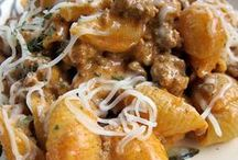 Pasta Recipes / by Sherry Roberts