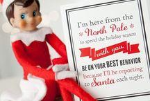 Elf On The Shelf  / Elf On The Shelf Ideas...