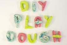 Playdough Recipes / Playdough recipes of all kinds! No cook, edible, glitter and more! Make your own playdough fun with these recipes.