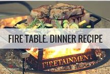 Delicious Recipes / Check here for delicious fire table cooking recipes by Firetainment!