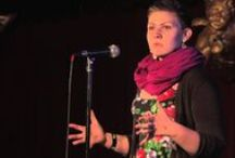 You're Just a Slam Piece / It's incredible the variety and diversity that lies in self-expression and people's ability to convey it through words. Inspiring slam poetry and the individuals who perform it.  / by Briana Wucinski