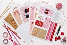 Printables, Downloads & Freebies / Eine Sammlung an inspirierenden Kreationen, die vielleicht in eigene Ideen und Stoffdrucke bei www.Stoff-Schmie.de einfließen.