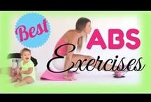 ABS & Core Workouts / Workouts and Exercises for the ABS & Core.  Belly flattening exercises and workouts that can be done at home with minimal to no equipment. / by Michelle Marie Fit