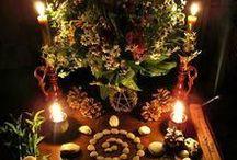 Wicca - Altar Ideas