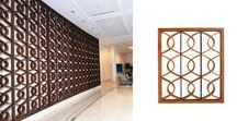 Screens Claustras and lattices / Please have a peek on our collection of screens and claustras. SJV is specialized in the high end screens, using nobles matrerials such as teak or gold leaf. Contact us info@sanjuanventures.com for any inquiries   #screen #screenwood #screenmetal #screenlobby #claustra #lattice #decorative divider #woodwork #carpentry #bespokefurniture #bespokehighendfurniture #Furnitureresidential #Furniturehospitality #Furniturecorporate